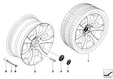 BMW LA wheel, star spoke 124