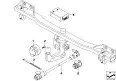 electric parts, towbar
