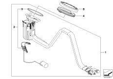 Fuel pump/Fuel level sensor right