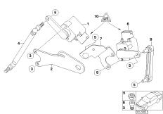 Headlight vertical aim control sensor