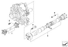 Drive shaft, 4-wheel