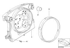 Instrument cluster Chrono Paket