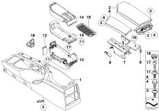 Retrofit, armrest front, movable