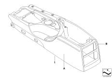 Individual centre console