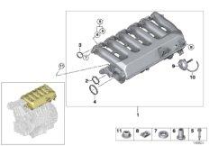 Intake manifold- Vacuum-controlled