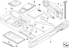 Tool kit/Lifting jack