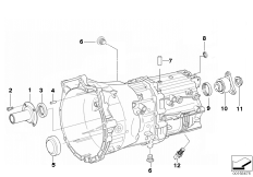 GS6-37BZ/DZ Seal and mounting parts