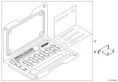 Switch unit, centre console