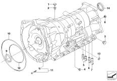 GA6HP19 housing, attachment parts, AWD