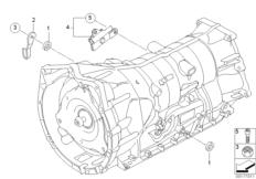 GA6HP19Z gearshift components
