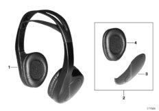 Infrared headphones