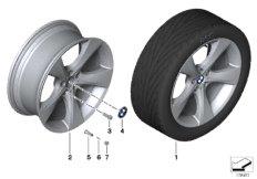 BMW LA wheel, star spoke 311