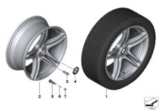 BMW Performance LA wheel, double sp. 313