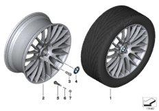 BMW LA wheel, cross spoke 312