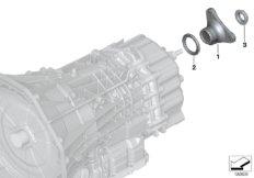 GS7D36BG output flange
