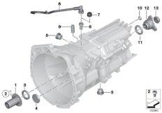 GS6-17BG/DG seals / mounting parts