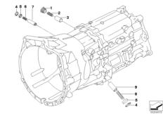 GS6X53DZ inner gear shifting parts
