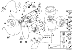 Levell.device, air spring and ctrl unit