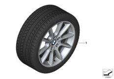 Winter wheel&tyre, V-spoke 281