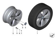 BMW LA wheel Streamline 363 - 17''