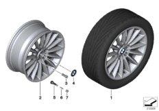 BMW LA wheel, radial spoke 237 - 18''