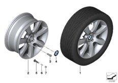 BMW LA wheel, star spoke 330 - 18''