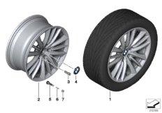 BMW LA wheel, W spoke 332 - 19''
