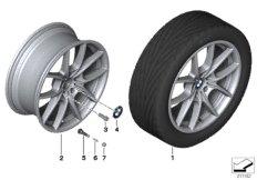 BMW LA wheel, V-spoke 356