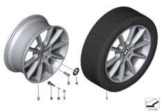 """BMW LA wheel, V-spoke 281 - 19"""""""