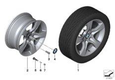 BMW LA wheel, star spoke 339