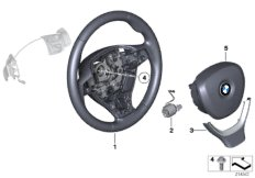 Sport st.wheel, airbag, multif./paddles