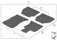 Floor mats, Avenue