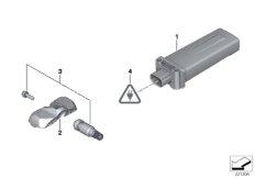 Tire pressure control (RDC) - ctrl unit