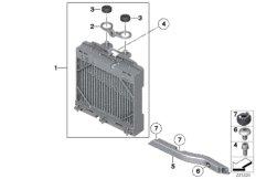 Engine-oil cooler