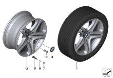 BMW LA wheel, star spoke 367 - 19''