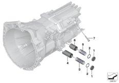 GS6-17DG gearshift parts