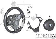 M sport st.wheel,airbag,multif./paddles