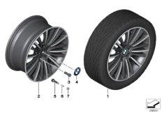 BMW LA wheel, W spoke 423 - 19''