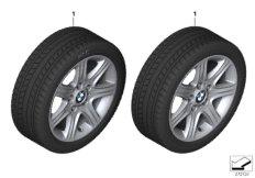 Winter wheel&tyre, star spoke 377