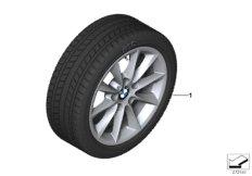 Winter wheel&tyre, V-spoke 411
