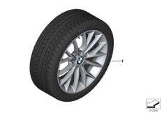 Winter wheel&tyre, Y-spoke 380