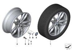 BMW LA wheel, M double spoke 434 - 20''