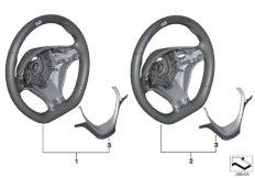 M Performance steering wheel w/ display