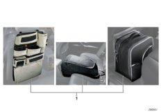 Bag set in interior