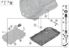 GA8HP50Z selector lever