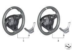 M Performance steering wheel