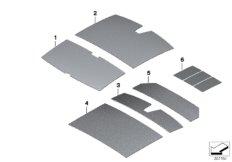 Sound insulation roof