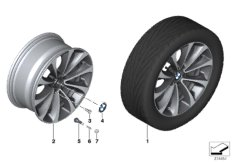 BMW LA wheel, turbine styling 452 - 18''