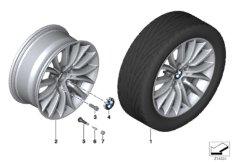 BMW LA wheel, multi spoke 454 - 18''
