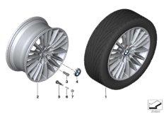 BMW LA wheel, multi spoke 455 - 19''